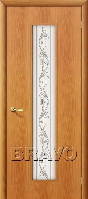 24Х Л-12 (МиланОрех), Межкомнатные двери Браво, Bravo, ламинированные. - фото 4490
