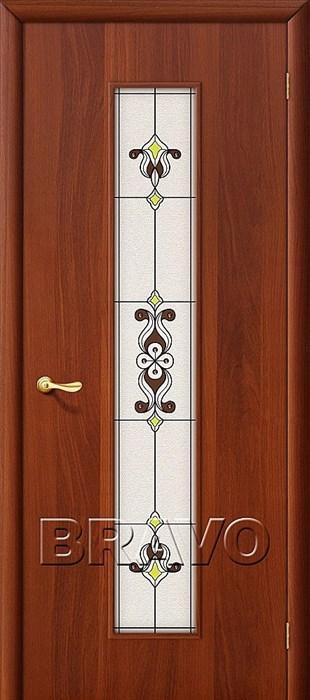 23Х Л-11 (ИталОрех), Межкомнатные двери, Браво, Bravo, ламинированные. - фото 4494