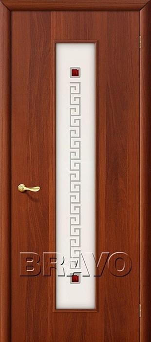 21Х Л-11 (ИталОрех), Межкомнатные двери, Браво, Bravo, ламинированные. - фото 4499