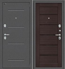 """Входная дверь """"Bravo"""" Porta S 104.П22 Антик Серебро/Wenge Veralinga"""